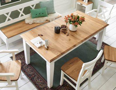 Nordic-Home-Landhaus-massiv-RAL9010-Wildeiche-speisen-essstisch-stuhl-sitzbank-g