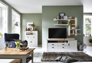 Nordic Home Wohnwand Tv-Lowboard TV-Bank